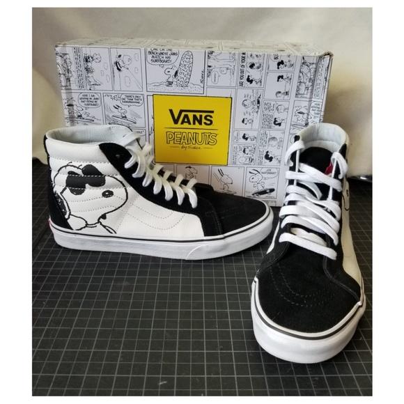f5ce39b361 Vans X Peanuts Joe Cool Sk8-Hi Reissue Shoes. M 5ad3c85f1dffdac06d5cf1b5